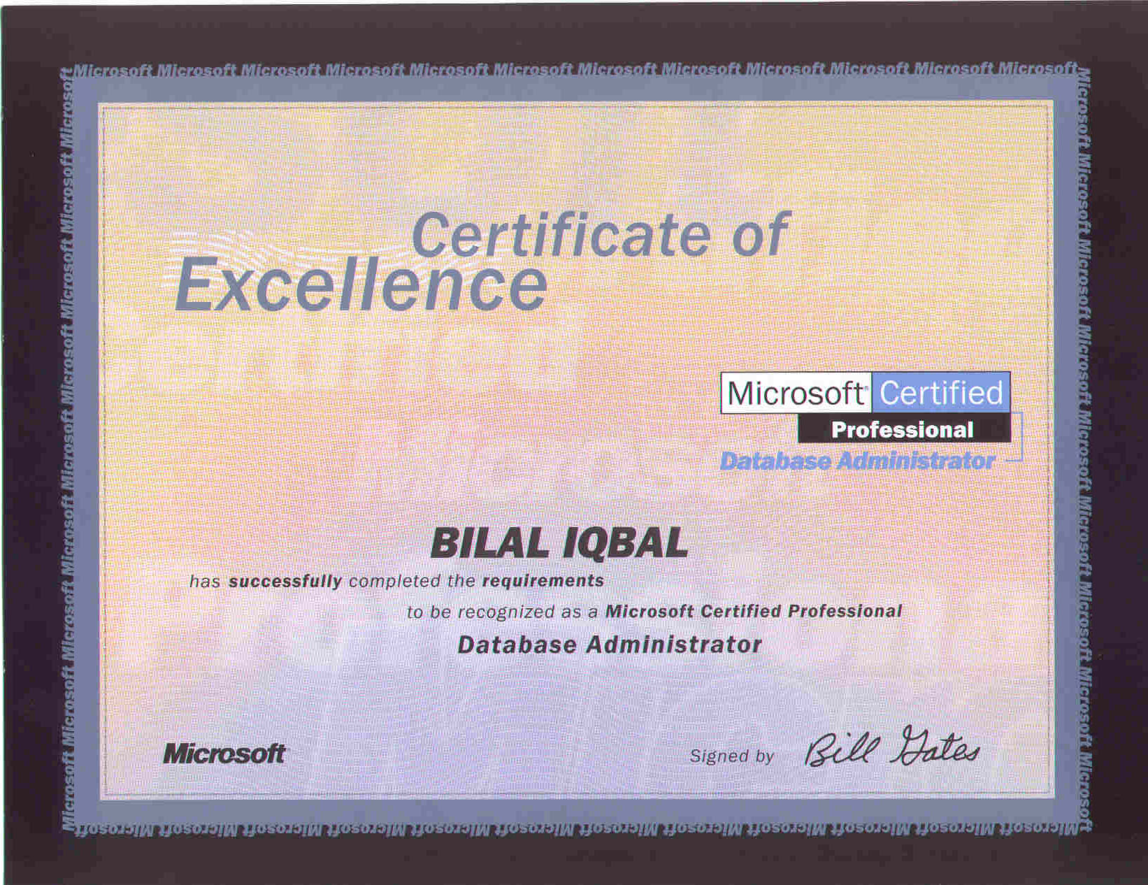 Portfolio bilal iqbal mba pmp pmi acp lssbb csm ccp microsoft certified database administrator mcdba 1betcityfo Images